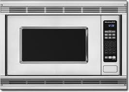 Kitchenaid Architect Toaster Kitchenaid Microwave Architect Series Ii Has A Large Capacity