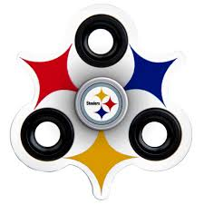 pittsburgh steelers home decor steelers office supplies pittsburgh steelers three way molded logo fidget spinner