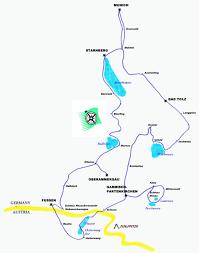 Garmisch Germany Map by Germany 2005