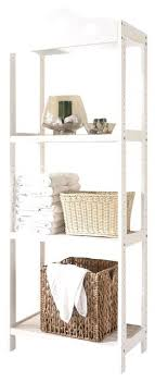 Plastic Bathroom Storage 3 Tier Bathroom Shelf Free Standing White Wooden 3 Tier Bathroom