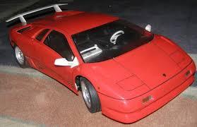 lamborghini diablo kit car kyosho lamborghini diablo vt scale car series kit 1 10th scale