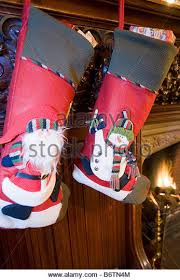 Christmas Stocking Decorations Hotel Interior Christmas Decorations Stock Photos U0026 Hotel Interior
