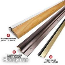 how to weather strip a door family handyman
