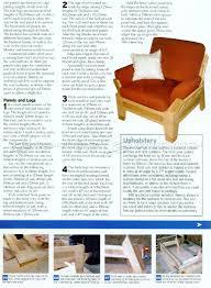 Used Armchair Sofa And Armchair Plans U2022 Woodarchivist