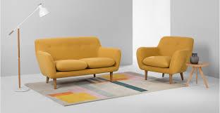 DYLAN  Seater Sofa Yolk Yellow Madecom - Dylan sofa