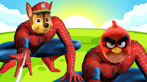 paw patrol spider man angry birds coloring pages spider man