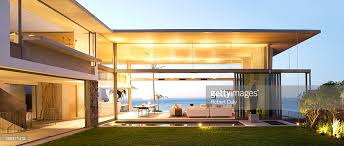 open floor plan of modern house stock photo getty images