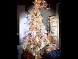 White Christmas Tree Decorations Ideas by White Christmas Tree Decorating Ideas Youtube