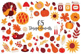 12 thanksgiving day patterns bonus by miu miu thehungryjpeg