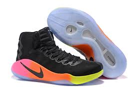 Nike Basketball Shoes nike hyperdunk 2016 ep high top s black rainbow basketball shoes