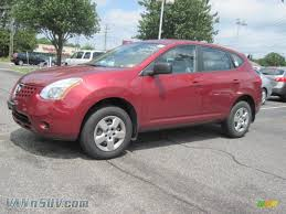 2008 Nissan Rogue S Awd In Venom Red Pearl 141927 Vannsuv Com