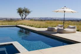 Swimming Pool Furniture by 18 Dazzling Modern Swimming Pool Designs The Ultimate Backyard