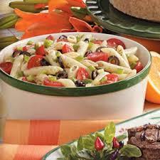 cold pasta dish penne pasta salad recipe taste of home