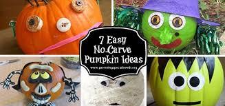 7 Easy No Carve Pumpkin Decorating Ideas Parenting Special Needs