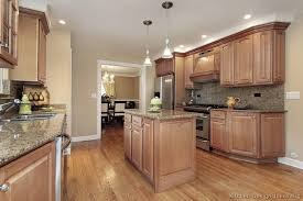 kitchen ideas with oak cabinets wood floors in kitchen with wood cabinets gen4congress