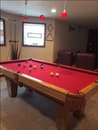 brunswick slate pool table brunswick billiards madison sold used pool tables billiard tables