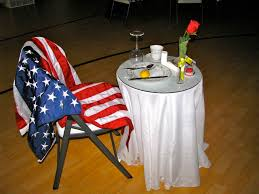 Empty Chair Poem Honoring The Absent A Pow And Mia Empty Chair Ceremony Aka