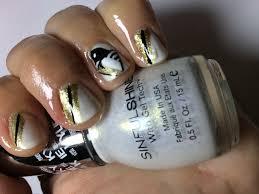pittsburgh penguins nail art tutorial youtube