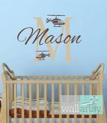 Helicopter Crib Bedding Baby Nursery Decor Helicopter Wall Decoration Baby Boy