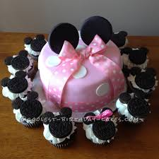 minnie mouse cake coolest minnie mouse cake and cupcakes