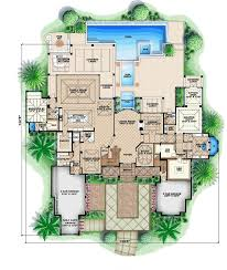 5000 to 10000 square foot house and mansion floor plans home