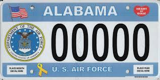 military license plates u2013 alabama department of revenue