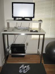 Ikea Standing Desk Legs by Monitor Stands From Ikea For Proper Monitor Positions Which Enable