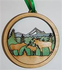 moose ornament ornaments etc monkitree