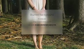 div background url blurred background css