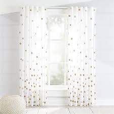 Curtains For Nursery Curtains Hardware Bedroom Nursery Crate And Barrel