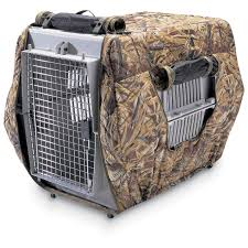 Camo Dog Bed Classic Medium Insulated Kennel Cover 122950 Kennels U0026 Beds At