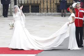 wedding dress goals kate middleton s second wedding dress reader s digest