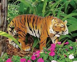 attractive animals ornaments in garden home landscaping