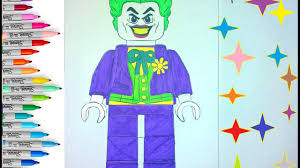 lego joker coloring pages for children coloring book lego joker