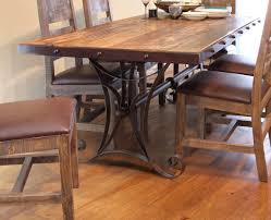 nice ideas iron dining table base interesting dining table with