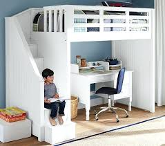 Bunk Bed With Desk And Stairs Bunk Beds With Stairs And Desk Stair Loft Bed Kulfoldimunka Club