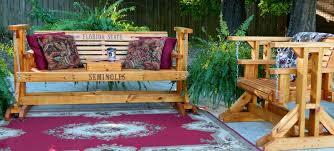 Glider Porch Handmade Southern Style Wood Porch Glider Patio Glider Glider