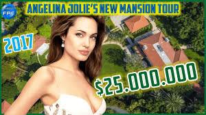Angelina Jolie Mansion by Angelina Jolie U0027s New Mansion Tour 2017 25 Million Youtube