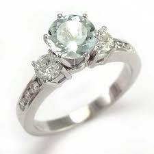 aquamarine and diamond ring anzor jewelry amazing 14k white gold genuine aquamarine diamond