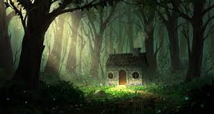 in the woods house in the woods by joakimolofsson on deviantart