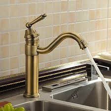 unique brass kitchen faucet kitchen deck mount bridge faucet with