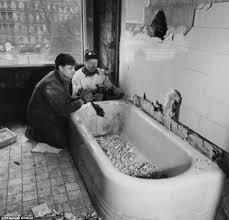 fascinating black and white photographs show the truman era