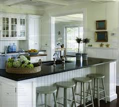 white kitchen island with black granite top pros and cons of black pearl granite countertops home and
