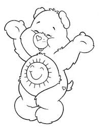 care bears coloring pages print care bears cowboy coloring