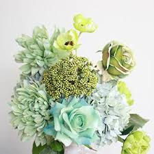 teal flowers silk wedding flowers bouquets shop flowers by color at afloral