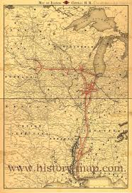 Lincoln Illinois Map by Illinois Maps
