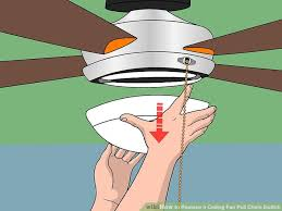 How To Change A Ceiling Fan by How To Replace A Ceiling Fan Pull Chain Switch With Pictures