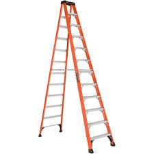 Mtr To Ft by Louisville Ladder Fs1412hd 12 Ft Fiberglass Heavy Duty Step