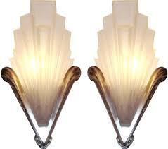 art deco wall lighting design ideas lights rose combined textures