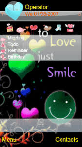 love themes for nokia 5233 smile2love animated theme for symbian s60v5 mobiles download apps